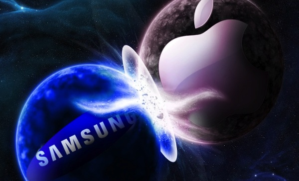Samsung vs Apple - vir: Phandroid