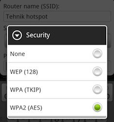 Android Wi-Fi Hotspot Security